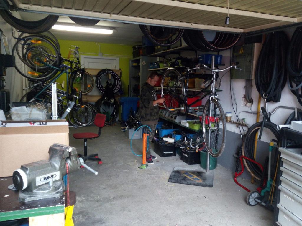 Nouvel atelier vélo à la Chapelle aux sabots